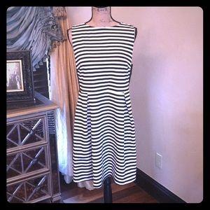 Striped Dress 1X